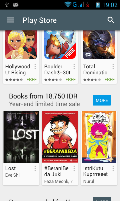 Play Store di Smartphone Android
