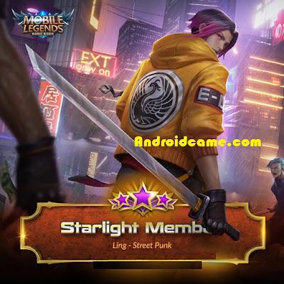 Dapatkan Hadiah Starlight Member Mobile Legends Di Bulan Maret ini Terbaru