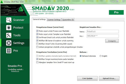 Download Smadav Pro 13.4 Terbaru 2020 Plus Serial Number