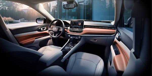 Jeep Compass 2022 ganha facelift e novo interior para os EUA