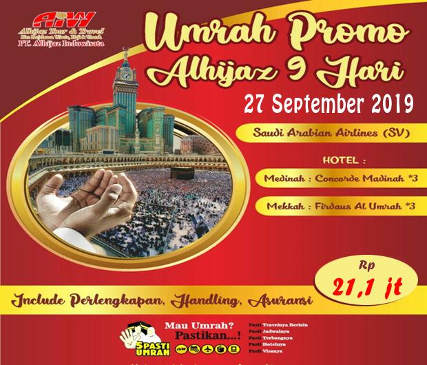 Travel Alhijaz Promo Umroh 2019
