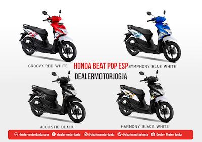 Harga Cash dan Kredit Honda Jogja New BeAt Pop eSP Juli 2018