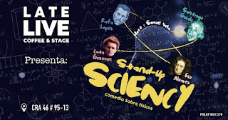 STAND UP COMEDY SCIENCY