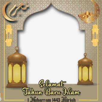 arnaim.com - Template Twibbon Tahun Baru Islam 1443 H (2)