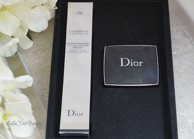 Diorshow Pump N' Volume Mascara and Eyeshadow Set | bellanoirbeauty.com