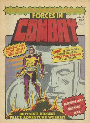 Forces in Combat #3, Machine Man