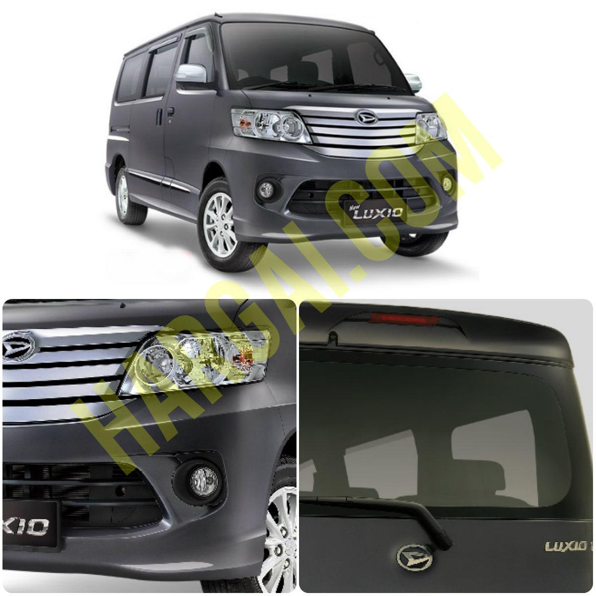 Harga Dan Spesifikasi Daihatsu Luxio Terbaru SEPTEMBER OKTOBER 2016
