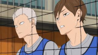 ハイキュー!! 伊達工業高校 | 二口堅治 青根高伸 | Aone Takanobu Futakuchi Kenji | DATE TECH | Hello Anime !
