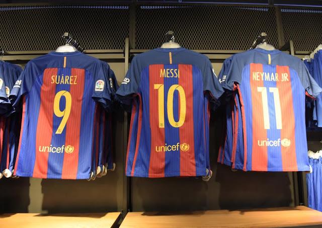 El Barça tiene la camiseta más cara de toda LaLiga Santander
