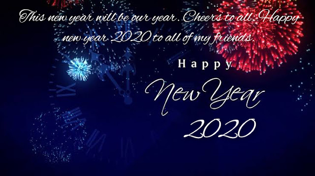 New Year 2020 Happy Wishes For Friends