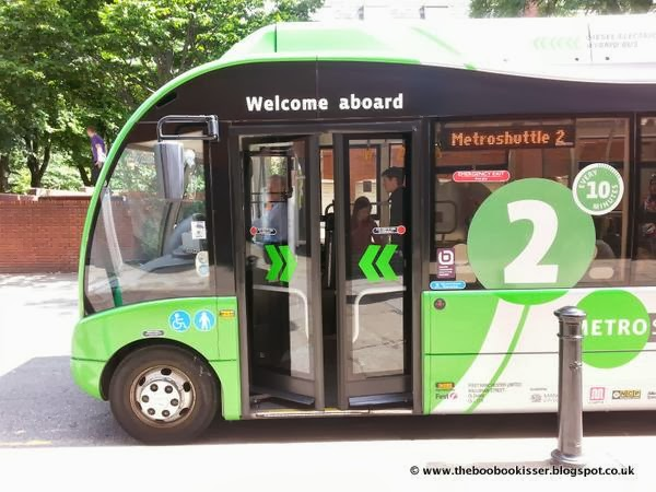 A day out on the buses in Manchester
