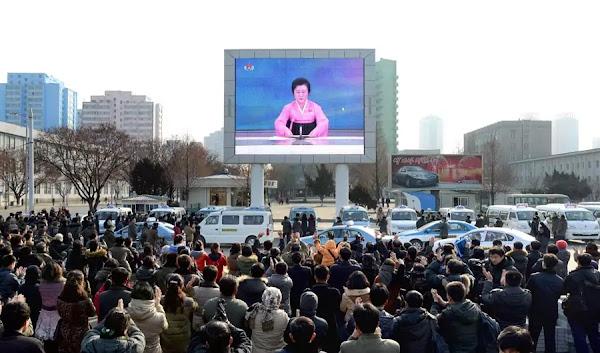 Ri Chun Hi announces the first h-bomb test success, Janucary 6, 2016