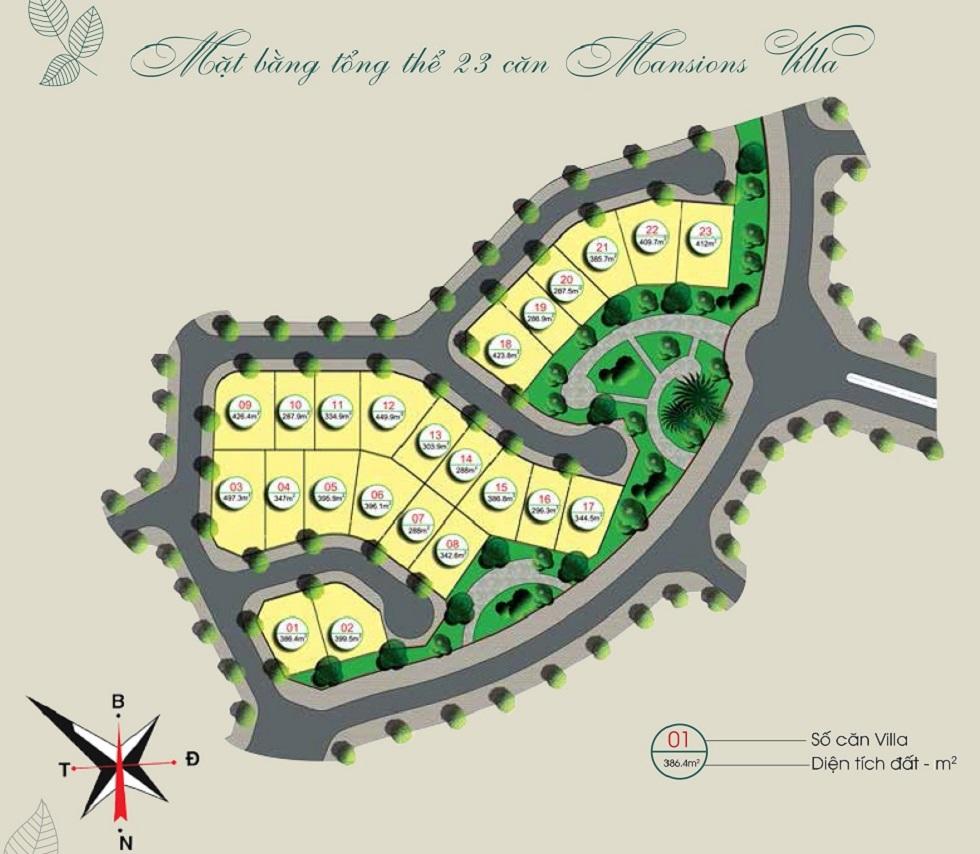 Mặt bằng tổng thể Giai Đoạn 2 Gamuda Gardens.