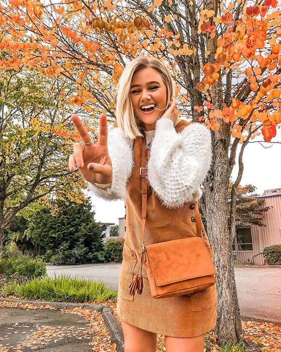 foto tumblr sonriendo otoño