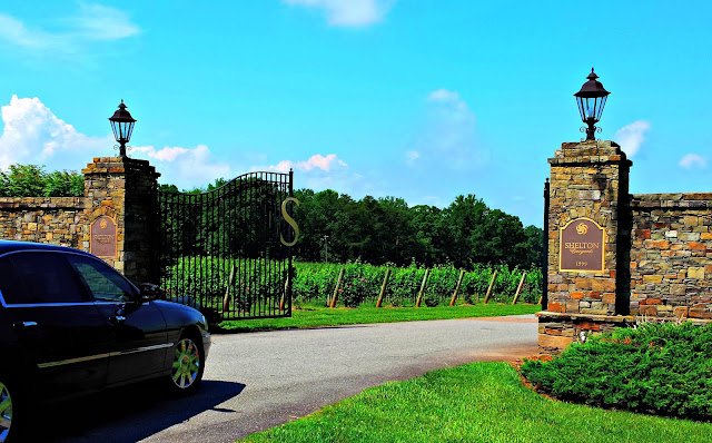Shelton Vineyards in Dobson, N.C. Yadkin Valley Wine Region