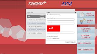 lowongan kerja SMK Analis Kesehatan di KONIMEX