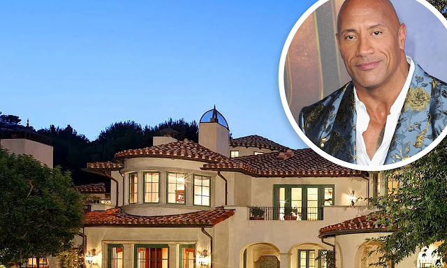 The Rock buys a Mansion that worth $27.8m (Photos)