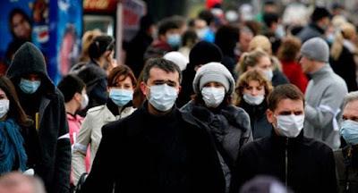 """З понеділка запроваджується обов'язкове носіння масок у """"громадських місцях"""""""