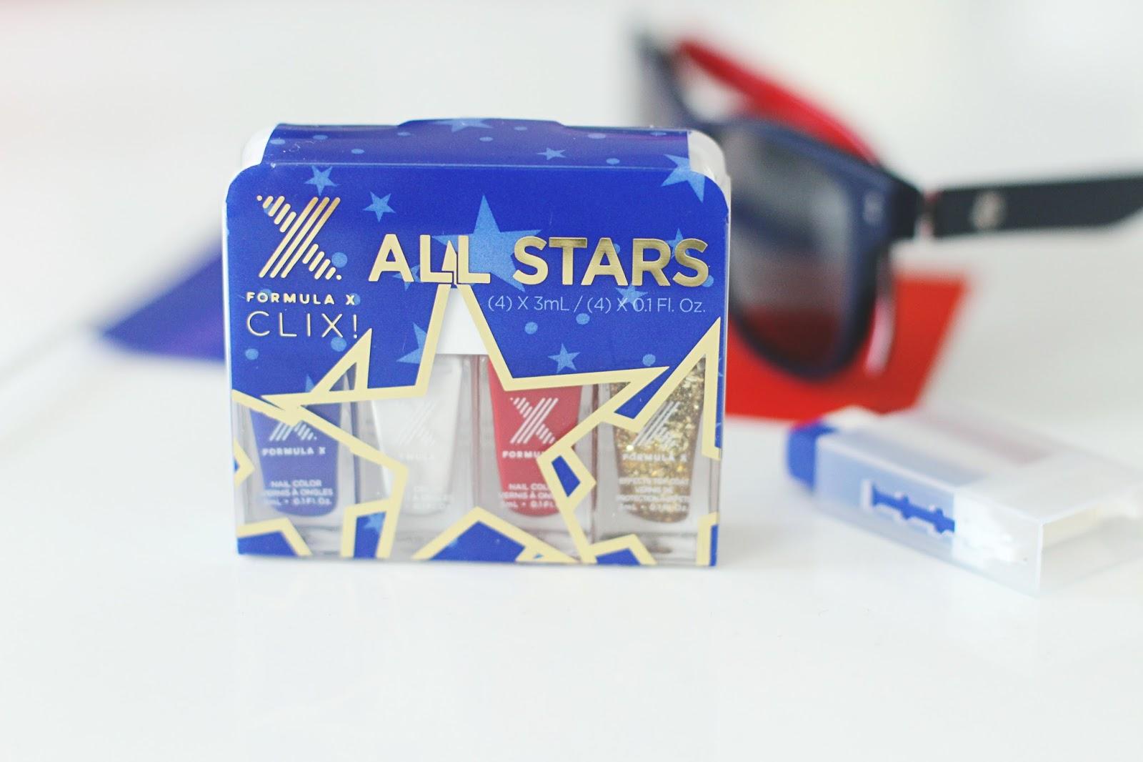 All stars formula x vernis euro 2016