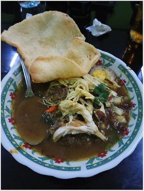 Rujak Soto Mbok Mbret;10 Top Kuliner Banyuwangi