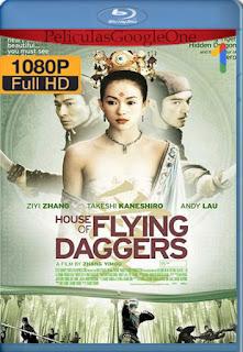 La casa de las dagas voladoras (House of Flying Daggers) (2004) [1080p BRrip] [Latino-Ingles-Chino] [LaPipiotaHD]