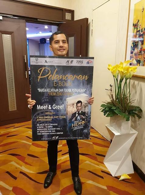 Pelancaran Ebook Dato' Aliff Syukri