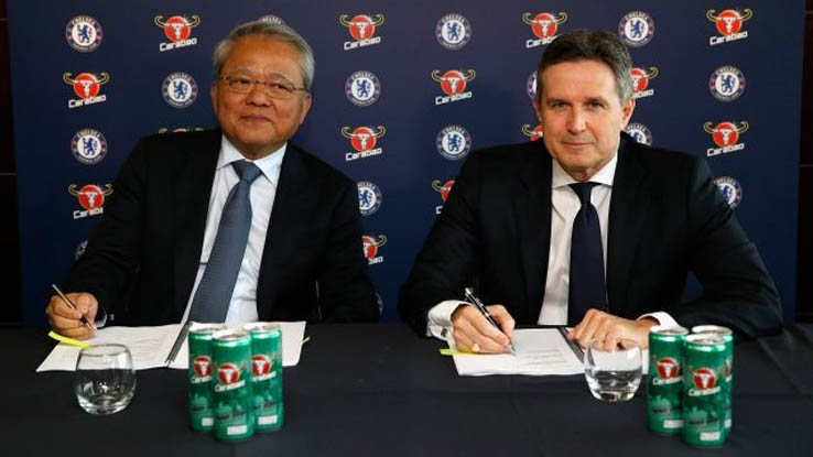 b3c8801ff45 Chelsea Sign First-Ever Training Kit Sponsorship Deal - Footy Headlines