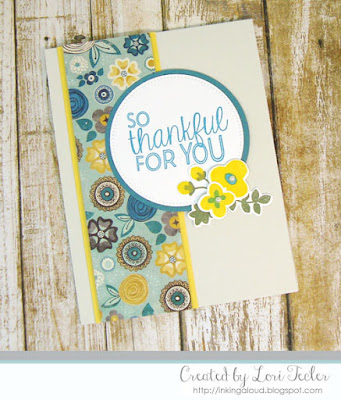 So Thankful for You card-designed by Lori Tecler/Inking Aloud-stamps from Avery Elle