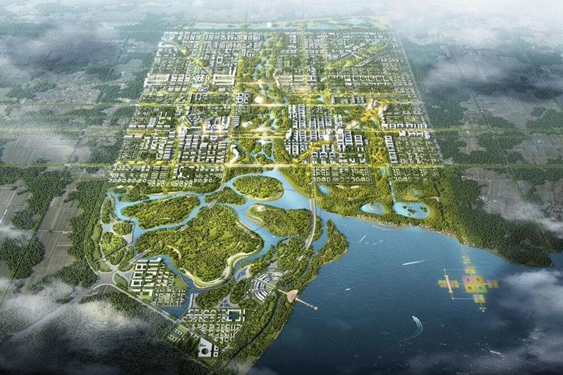 """""""Geleceğin Şehri""""ne dev yeraltı su arıtma tesisi kuruluyor"""