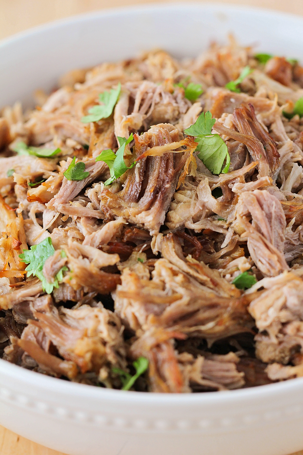 These instant pot carnitas are so savory and flavorful, and take just a few minutes of active time to make!