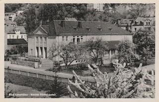Neues Filmtheater Bad Schandau Postcard 1956