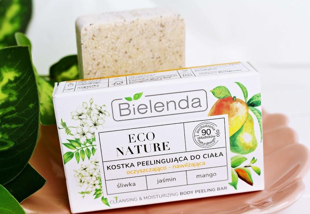 Peeling w kostce Bielenda Eco Nature Śliwka Jaśmin Mango