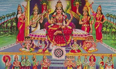 Lalita Sahasranamam Stotram Malayalam Language