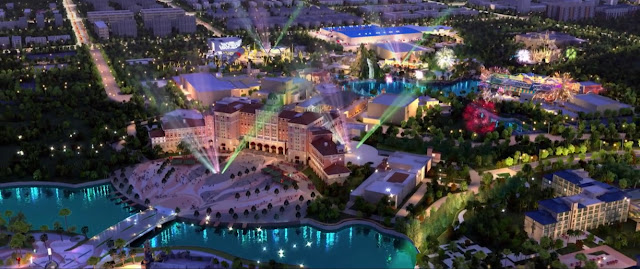 Universal Studios Beijing New Concept Art October 2019
