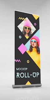 Desain banner murah bekasi