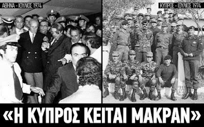 Πόσο μακράν κείται η Κύπρος;