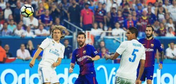 Video Gol Real Madrid vs Barcelona 2-3 El Clasico Miami ICC 2017 USA