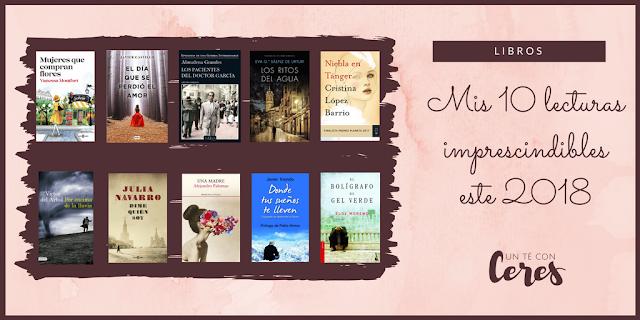 10 libros imprescindibles en 2018