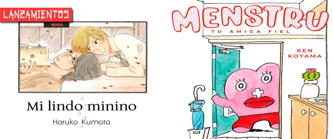 Novedades Ediciones Tomodomo septiembre 2020 - manga