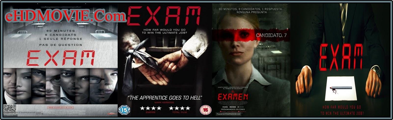 Exam 2009 Full Movie English 720p - 480p ORG BRRip 300MB - 650MB ESubs Free Download