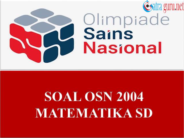 Soal OSN Matematika SD Tahun 2004