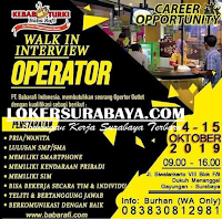 Walk In Interview di PT. Babarafi Indonesia Surabaya Oktober 2019