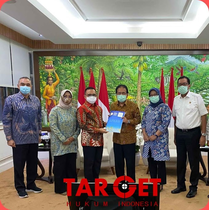 Temui Menteri ATR, Apkasi Beri Masukan RPP Penataan Ruang