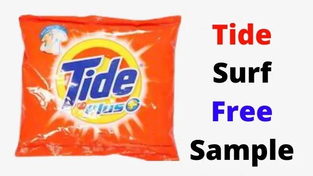 Get Free Tide Samples