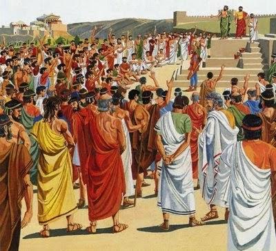 Η στάση των Ελλήνων έναντι των προδοτών στην αρχαιότητα