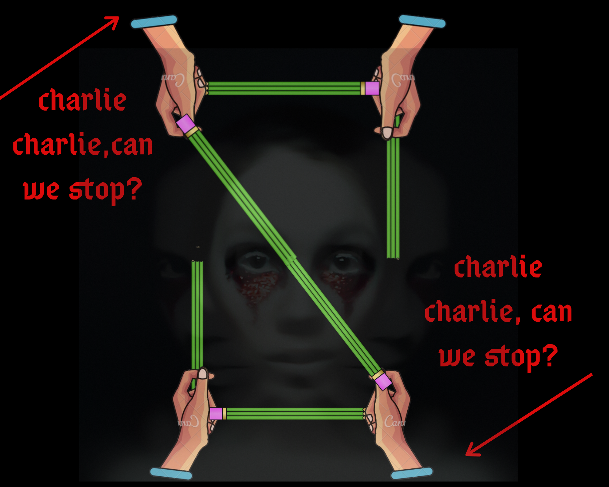 Charlie charlie-the game