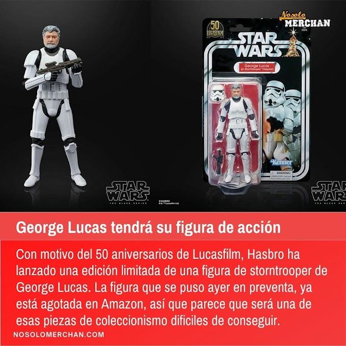 George Lucas tendrá su figura de acción