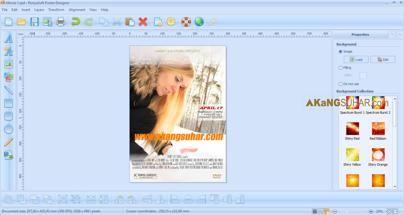 Download RonyaSoft Poster Designer final full crack full keygen full serial number full patch full activation key