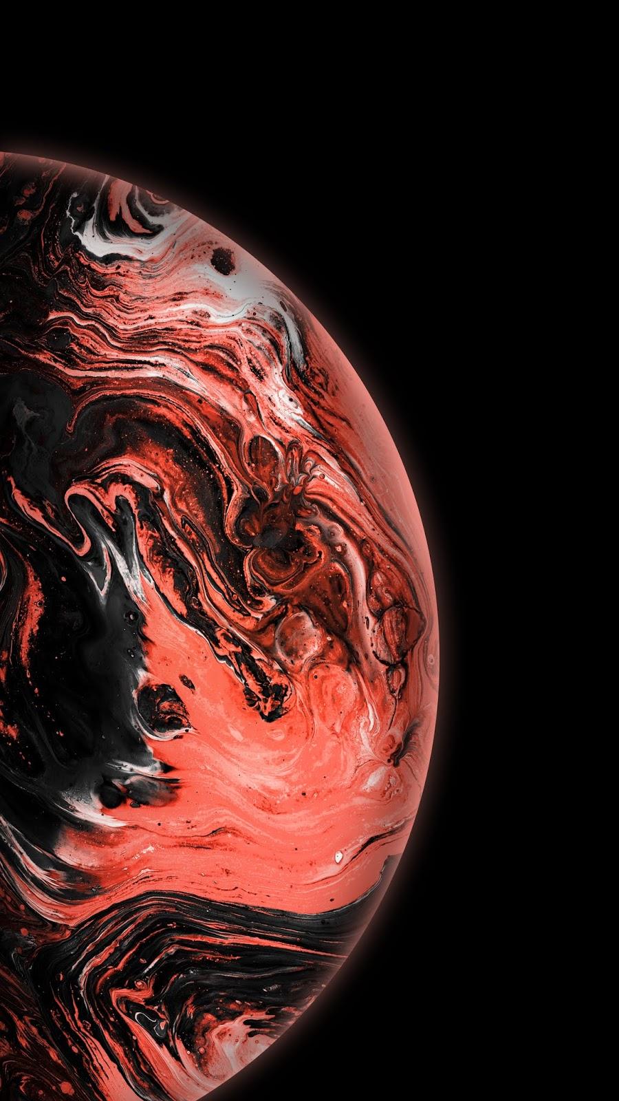 Reddish Bubble