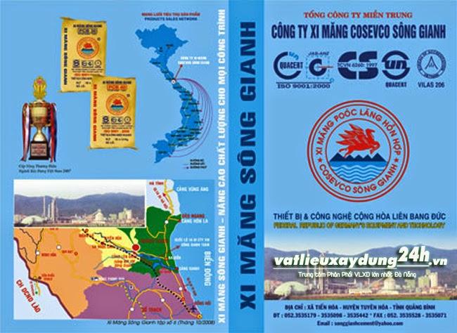 Nhà máy xi măng Sông Gianh Cosevco – Quảng Bình
